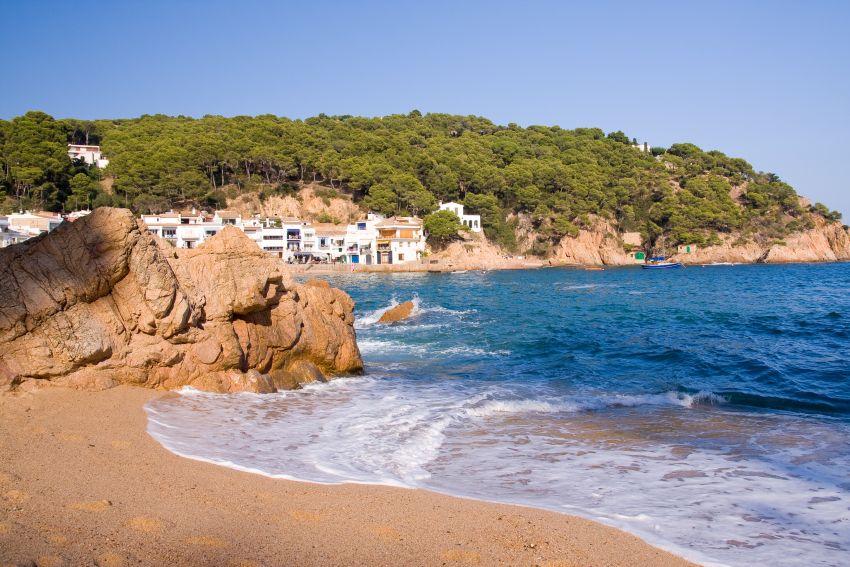 Küste mit schönem Ausblick