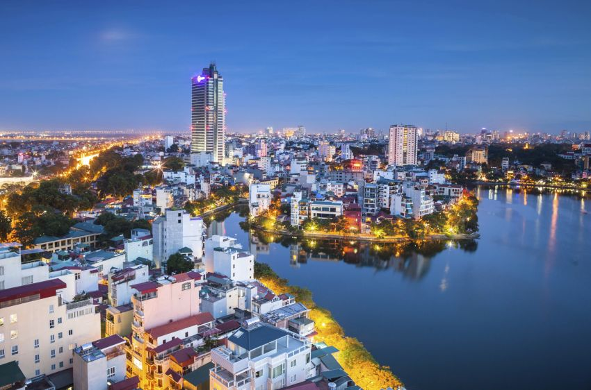 vietnam city lights
