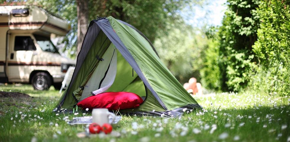 Moderne Campingausrüstung von Lafuma