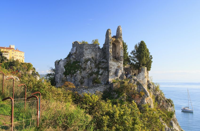Burg in Italien