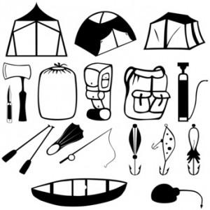 Pflege für das Zelt
