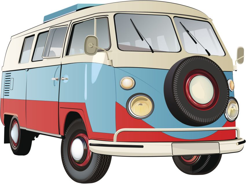 Old bus Bulli VW Oldtimer